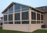 Sunrooms constructed