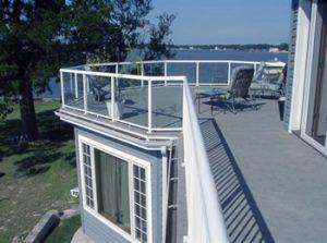Vinyl decking for waterproof decks